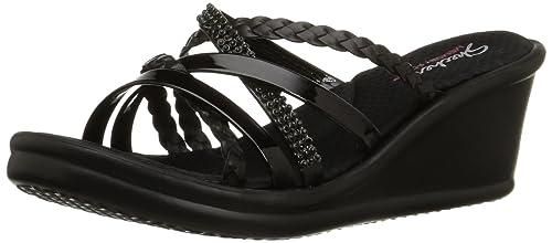 zapatos skechers con taco