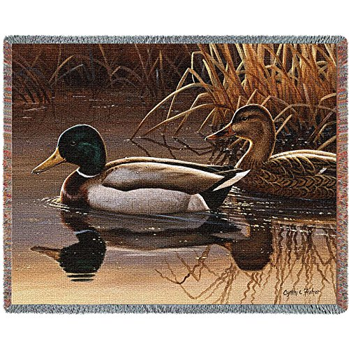 - Pure Country Inc. Quiet Couple Blanket Tapestry Throw