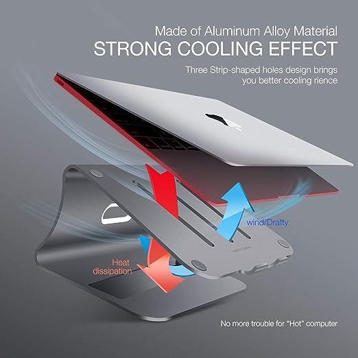 Bestand Soporte de Aluminio para Laptop & Soporte de Magnesio ...