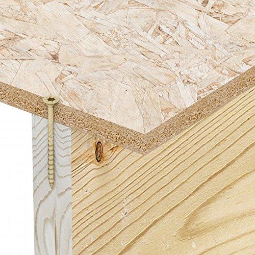 50 Vis /Ø 8x140 mm Vis /à bois Simpson ESCRC