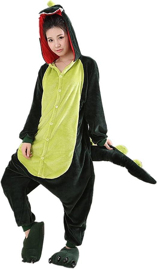 VADOO- Mono de una Pieza de Pijama de Forro Polar para Halloween ...