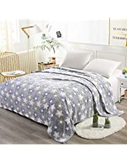 i-baby Home Blanket Large 3D Flannel Fleece Throw Blanket for Bedding & Sofa Couch | Super Soft Star Pattern Decorative Throw | Warm Cozy Large Bedspread