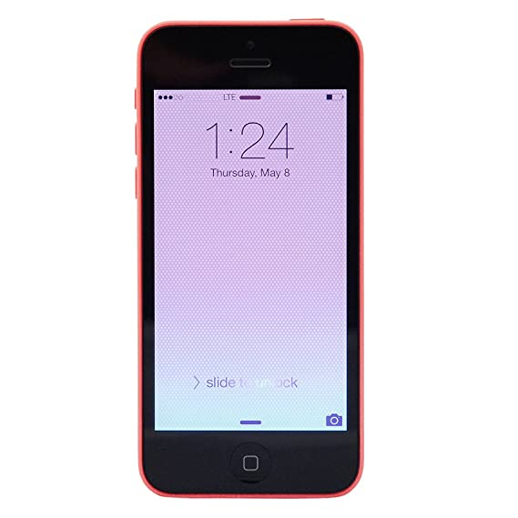 amazon com apple iphone 5c 16 gb verizon pink cell phones