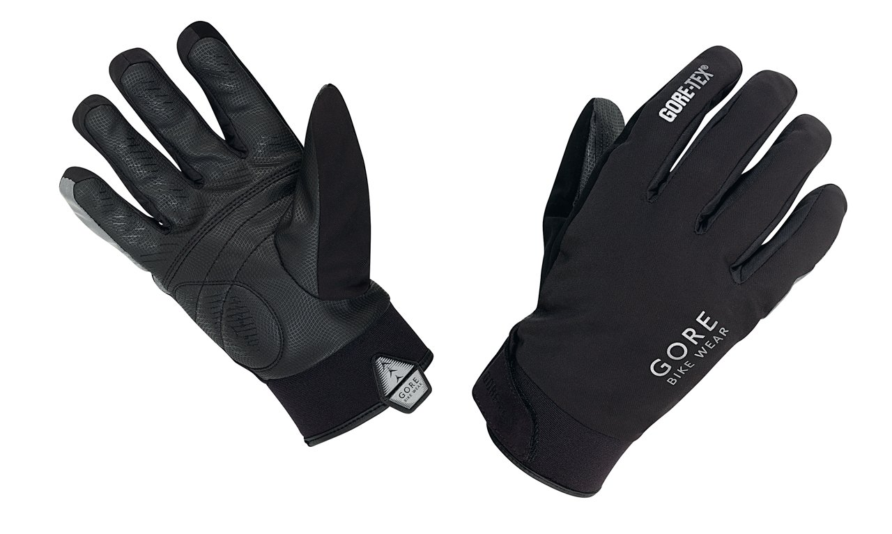 GORE BIKE WEAR UNIVERSAL GT Thermo Men's Cycling Gloves, black, size 8 GCOUNW990008