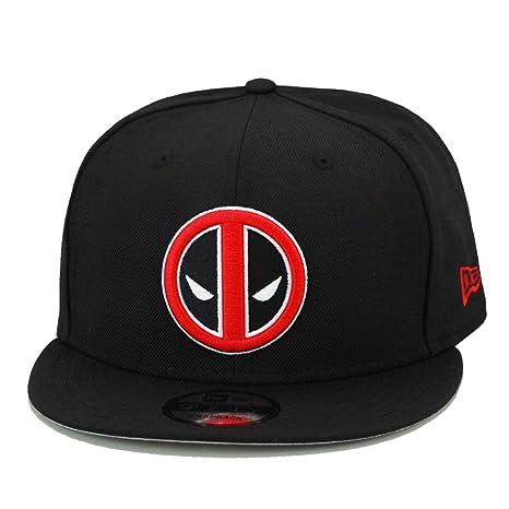 6d5a306d5 Amazon.com: New Era 9fifty Deadpool Snapback Hat Cap Black: Sports ...