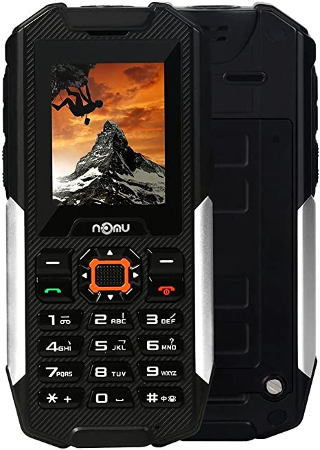 Smartphone Libre - NOMU T10 IP68, teléfono móvil potente, doble cámara, impermeable,resistente al antigolpes, SOS 2G GSM MTK6261A, 32M+128M 0.3MP Dual SIM.: Amazon.es: Deportes y aire libre