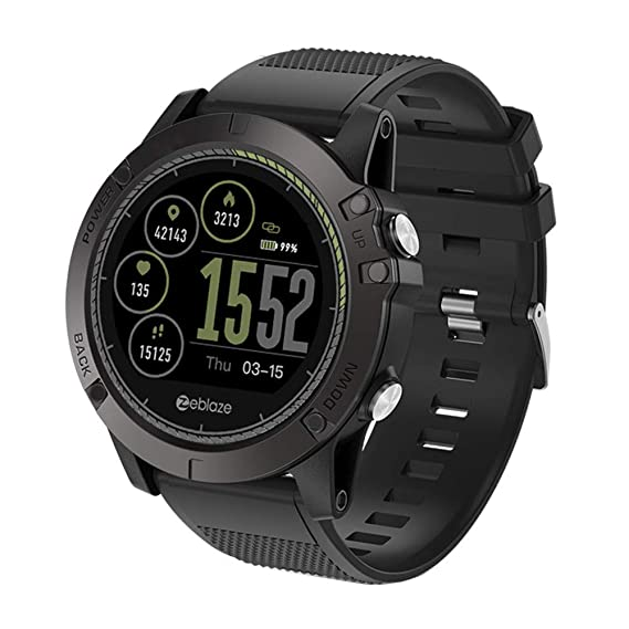 Amazon.com: Zeblaze Vibe 3 HR Smart Watch Phone Sports Men ...