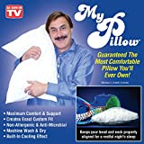 Mypillow Best Deals - My Pillow Non-Allergenic and Anti-Microbial Pillow with Built-In Cooling Effect (KING)