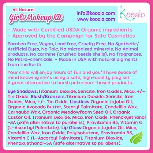 Organic Makeup For Kids Awesome Amazon Young Girls Makeup Kit All Natural Certified Organic