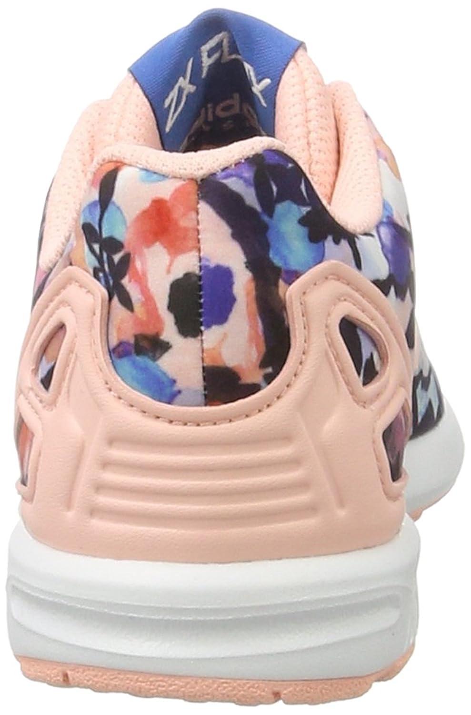 Adidas ZX Flux, Entrenadores para Niñas, Varios Colores (Haze Coral/Haze Coral/FTWR White), 28 EU