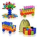 QuadPro Brain Flakes 570 Piece with 4 Set Wheels Plastic Snowflake Building Blocks Set Kids Preschool Toys Educational Stem Toys for Boy and Girls