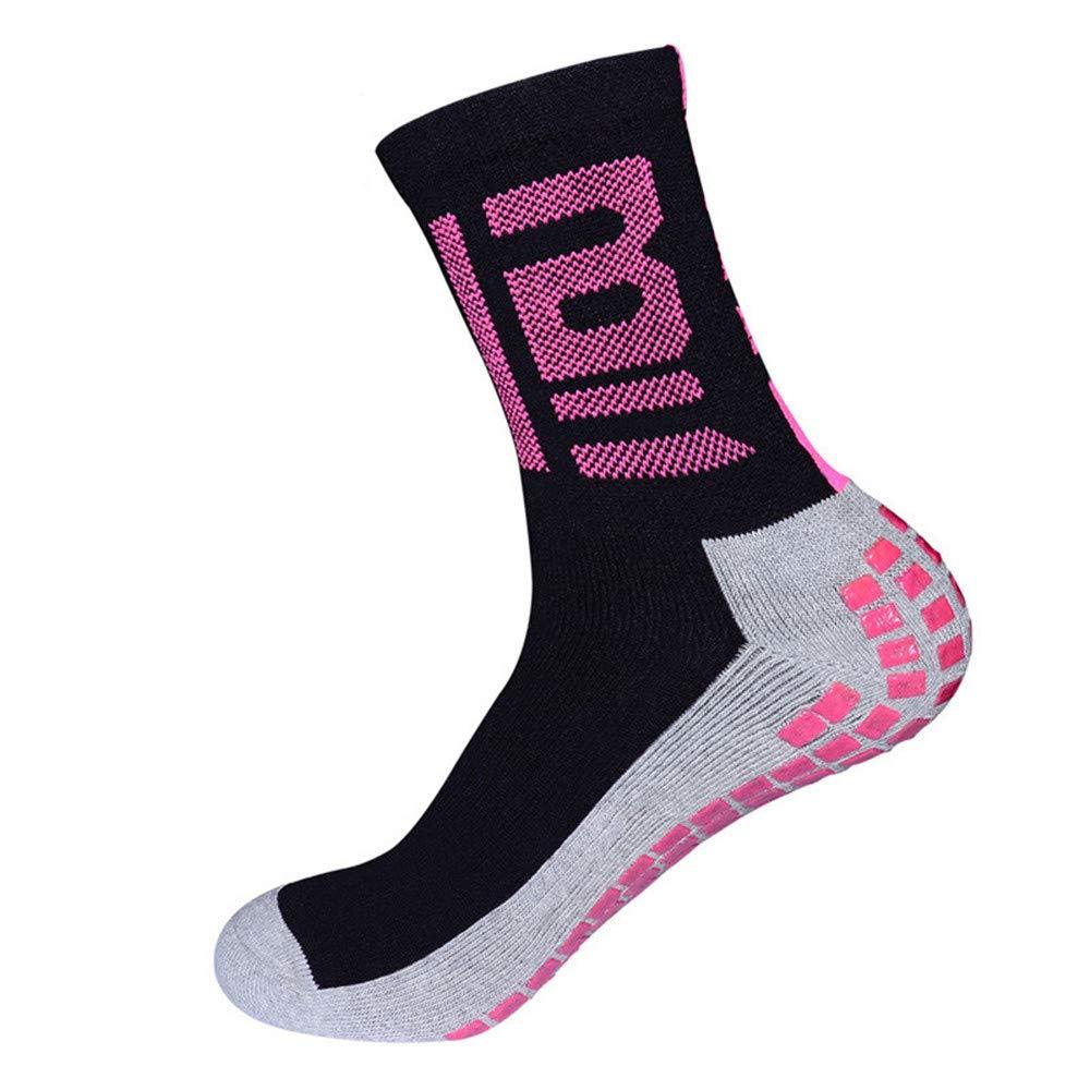 Circulation Boost Stamina Cvbndfe Increase Blood Circulation Short Tube Non-slip football Running Travel For Outdoor Activities Running Compression Socks Color : Rose