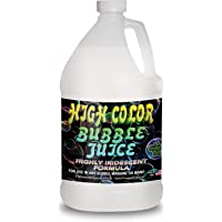 Froggys Fog - High Color Bubble Juice - Strong, Long-Lasting, Iridescent - Compatible With All Bubble Machines and…
