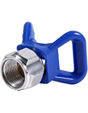 Blue Airless Paint Spray Gun Flat Tip Nozzle Seat Guard for Graco Titan Wagner Sprayer