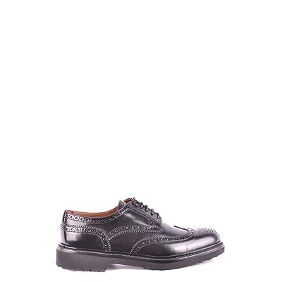 DOUCAL'S Femme Mcbi102021o Noir Cuir Chaussures À Lacets