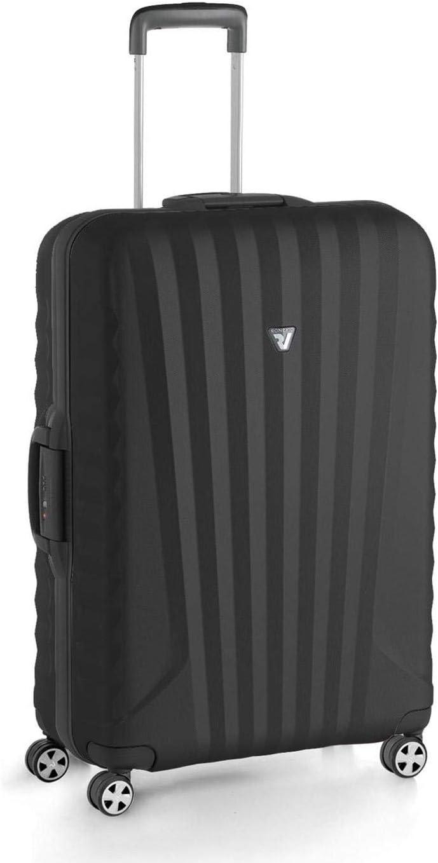 Roncato Maleta Mediana M Uno SL Premium - cm 73 x 48 x 25 Capacidad 80 L, Ligero, Organización Interna, Cierre TSA, Garantìa 10 años