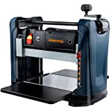 POWERTEC PL1252 15 Amp 2-Blade Benchtop Thickness Planer For Woodworking   12-1/2 in. Portable