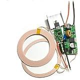 Taidacent 18ミリメートルワイヤレス給電モジュール無線充電レシーバーモジュールに1個ロット12V 2Aの高電力8MMの