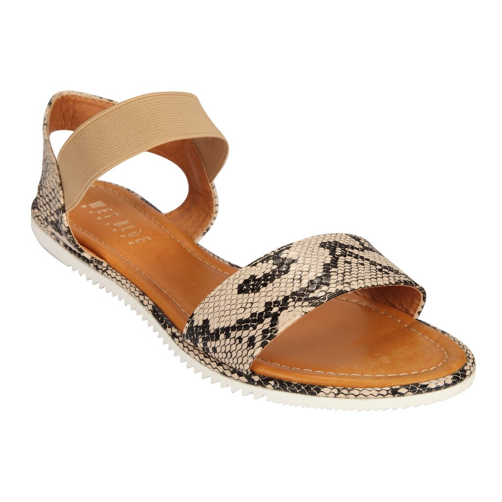 Buy WETBLUE EXOTIC WHITE SANDALS at