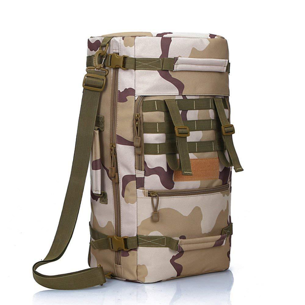 Lounayy Mit Hoher Taktischer Rucksack Outdoor Stylisch Mode Campingrucksack Wandern 36 55L Berg Und Freizeitrucksack (Farbe   C, Größe   One Größe)