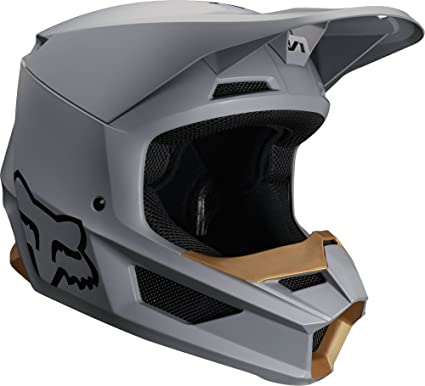 Fox Racing 2019 V1 Helmet - Matte Stone (MEDIUM) (STONE)