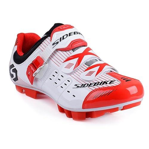 Zapatillas de ciclismo de montaña, de Sidebike MTB, para hombre y mujer, color, talla 44: Amazon.es: Zapatos y complementos