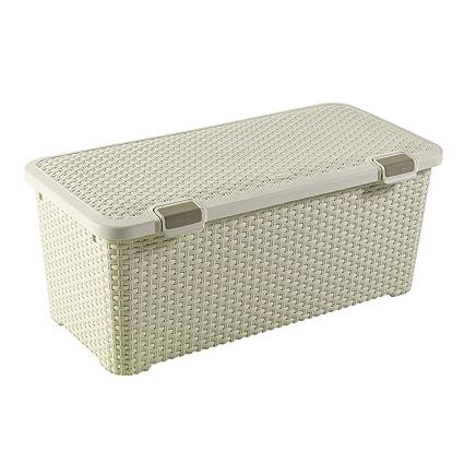CURVER Box 72L BAUL DE ORDENACION Style, Polipropileno, Blanco