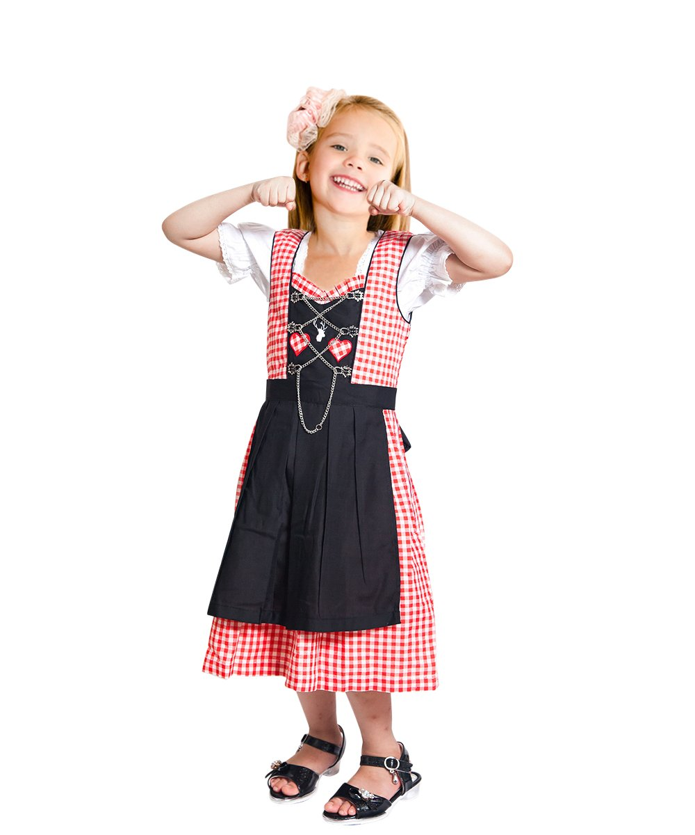 Children-s Dirndl Dik08 3 pcs. Size