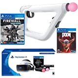 PlayStation Bravo Team Deluxe Bundle (4 Items): PlayStation VR Skyrim Bundle, PSVR Bravo Team Game, PSVR Firewall Zero Hour Game and PSVR Aim Controller
