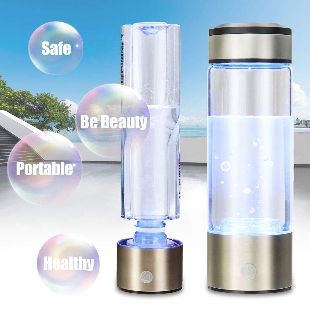 CHIXIANG Water Filter jug Portable Hydrogen-Rich Water Bottle Alkaline Electrolysis Water Mechanism Hydrogen Rechargeable Water Filter
