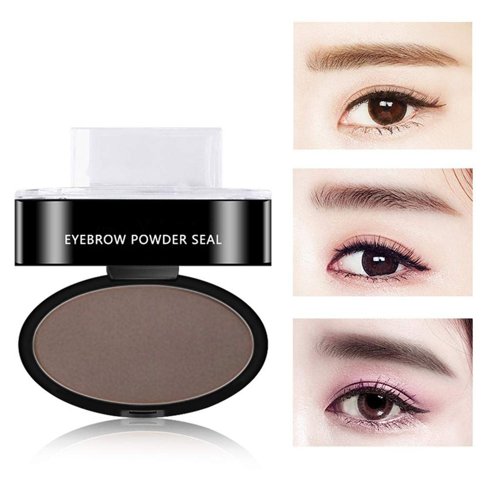 Amazon EyeBrow Stamp Waterproof Eyebrow Powder Arched Eyebrows For Beginner Make Up Nature Brow Beauty