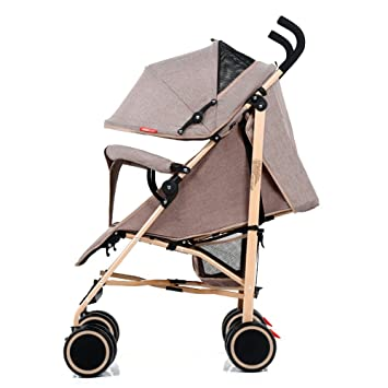 Baby cart Ultra-Light can sit Reclining Folding Shock Absorber Push Umbrella car (Color