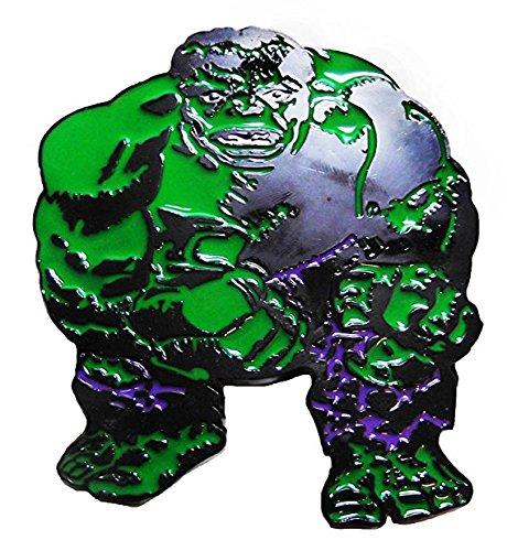 Marvel Comics THE INCREDIBLE HULK Metal/Enamel BELT BUCKLE (Incredible Hulk Costumes For Adults)