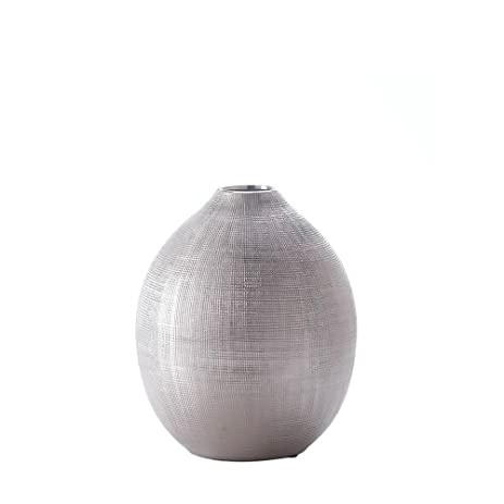 Amazon Silver Flower Vase Decorative Vases For Living Room