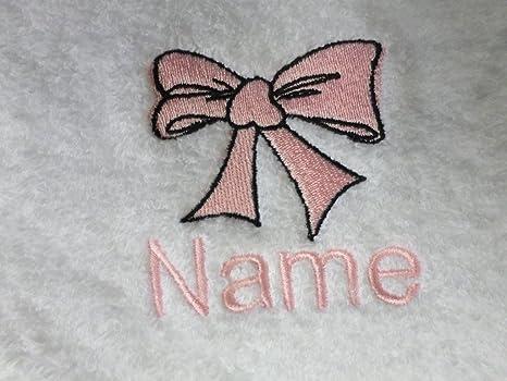 Toalla de mano con un arco Logo y nombre de tu elección, 50 x 90