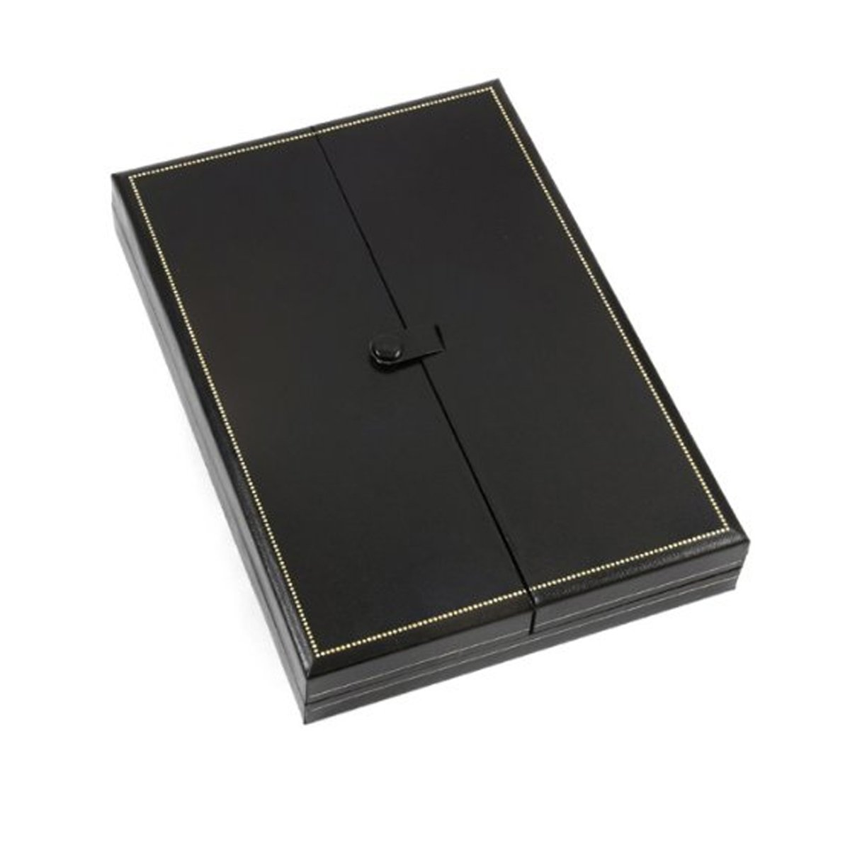 Fancy Necklace Jewelry Gift Box Prestige Collection Black