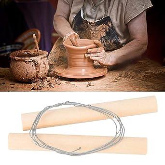 Alambre de Artesanía de Corte Herramienta de cerámica de barro /&