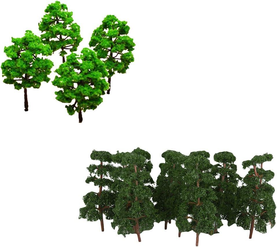 MagiDeal - Juego de 30 Piezas de árbol Modelo Pino Arquitectura Bosque Paisaje diseño: Amazon.es: Juguetes y juegos