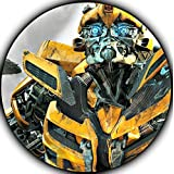 Transformers Edible Image Photo Sugar Frosting Icing Cake Topper Sheet Birthday Party - 8 ROUND - 75744 by Sweet Cakes