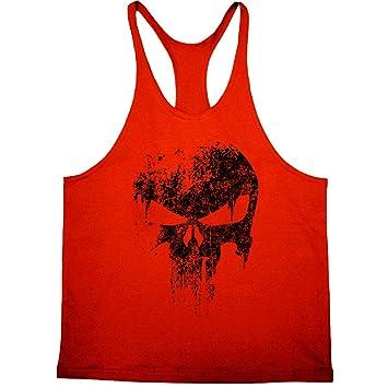 b0211bebaf3ed Cabeen Hommes Débardeur Musculation Bodybuilding Tank Tops Maillot de Corps Sport  Shirt