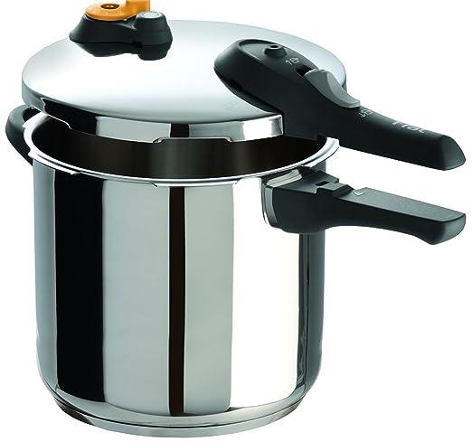 Amazon.com: T-fal P25142 - Olla a presión para lavavajillas ...