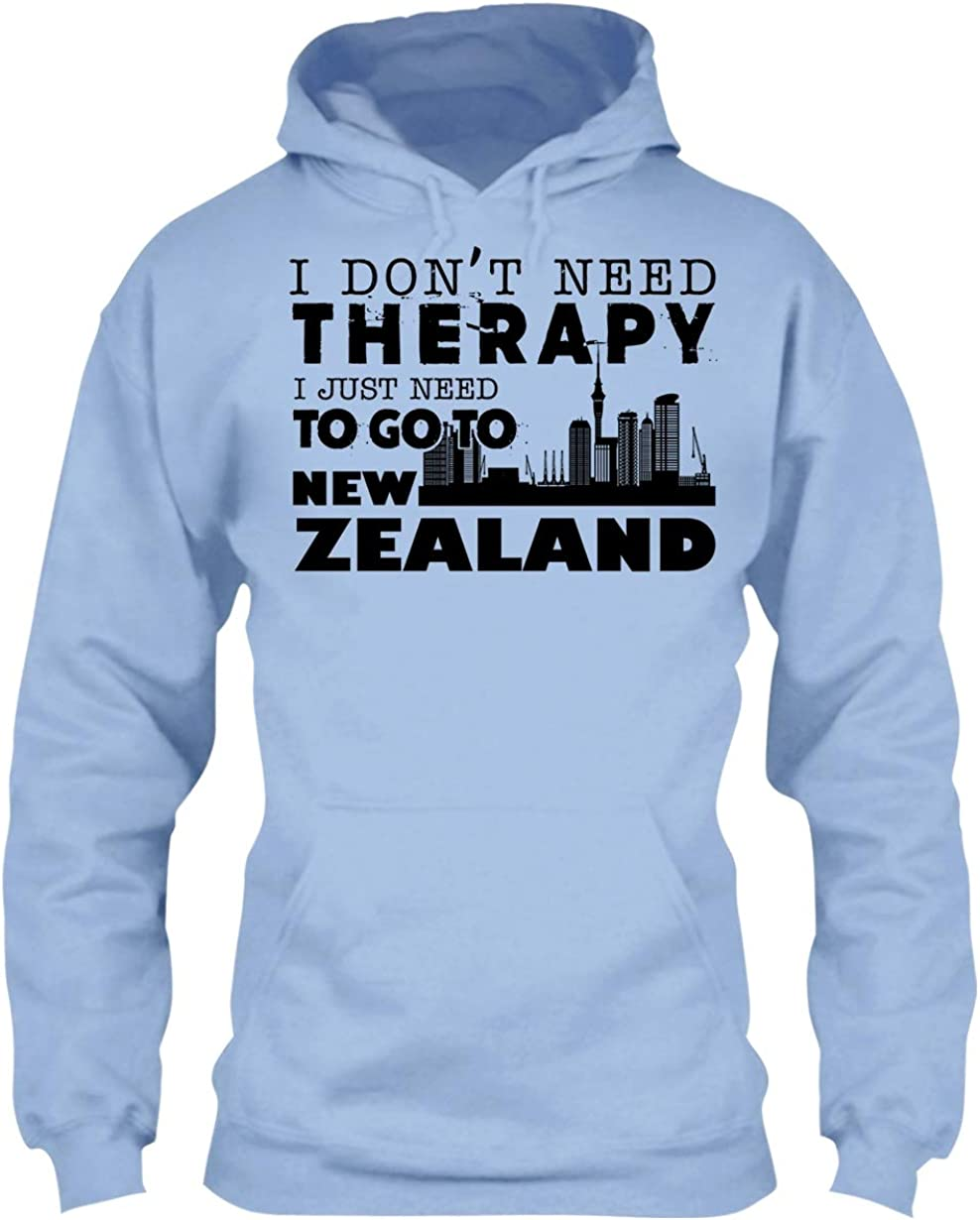 New Zealand Beautiful Tee Shirt I Dont Need Therapy I Just Need To Go New Zealand T-Shirt Best Gift For Friend.