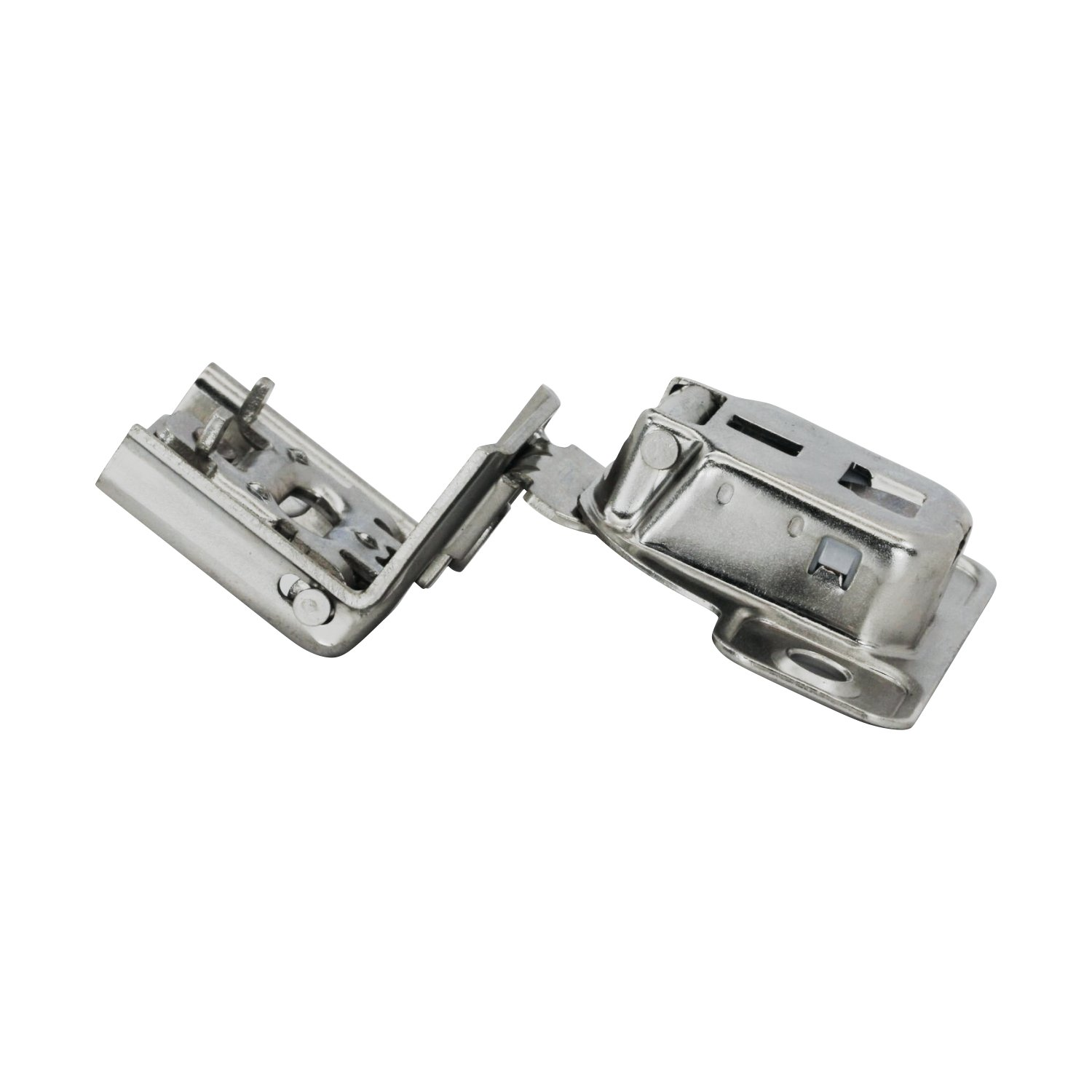 25 Pack Salice 106 Degree Silentia 1-3/8'' Overlay Screw On Soft Close Cabinet Hinge with 2 Cam Adjustment CUP3CD9 by Rok (Image #5)