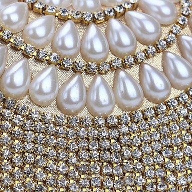 Femmes soirée Diamants de Tassel Sac Blue RvxOa8w