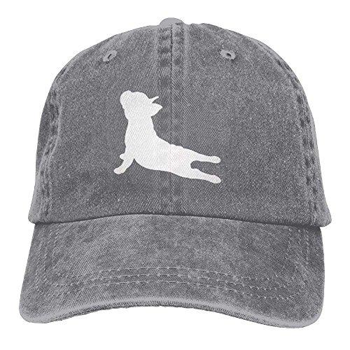 SweetieP French Bulldog Yoga Adjustable Cotton Hat ()