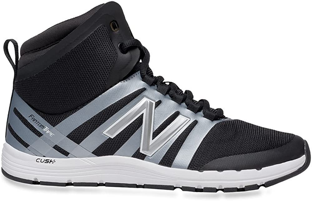 New Balance Women's 811 Mid-Cut Cross Trainer,Black White,US