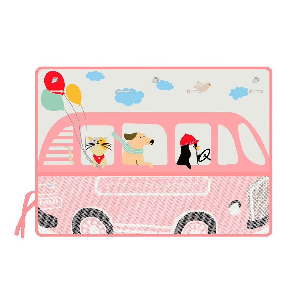 ENCOCO Parasol de Coche para Ventana Lateral de Coche con Dibujos Animados Parasol para Ni/ños beb/é Mascota Auto Accesorios para Ventana Lateral