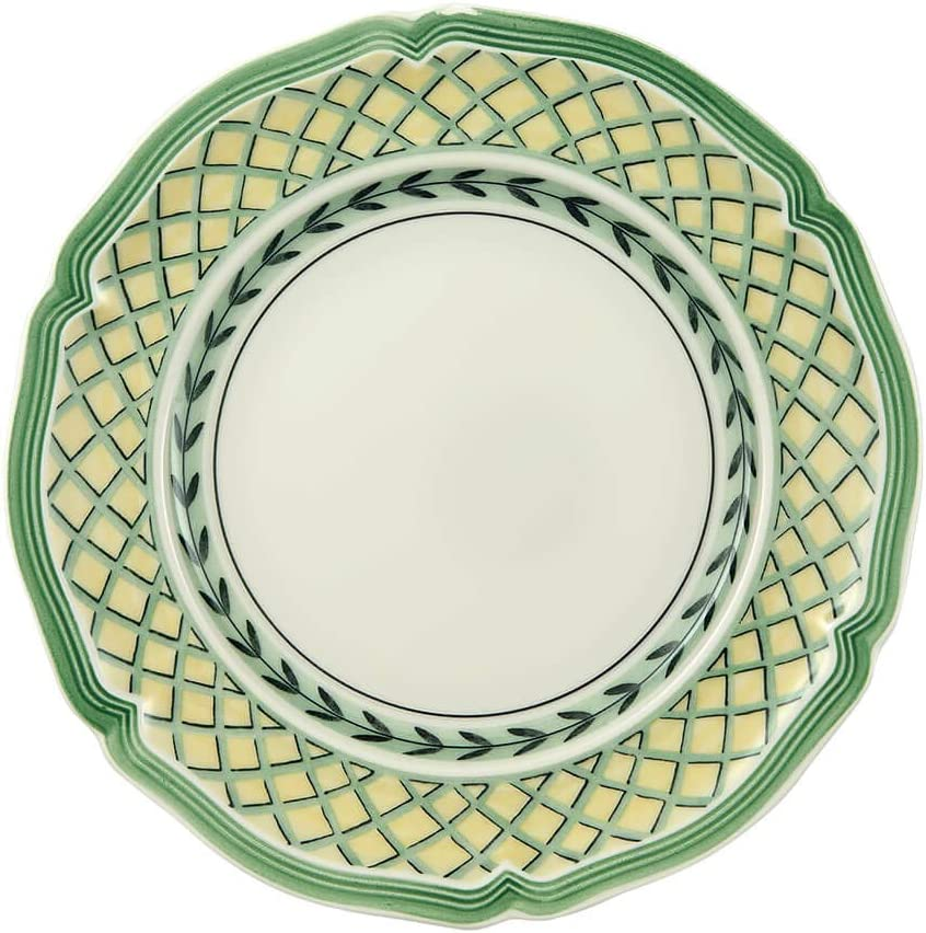 Villeroy & Boch French Garden Orange Bread & Butter Plate, 6.5 in, White/Multicolored
