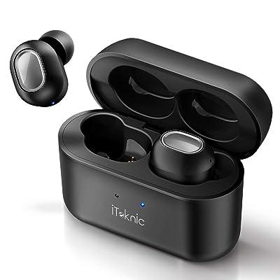 【値下げ】iTeknic AAC対応 Bluetooth5.0 完全ワイヤレスイヤホン 送料込1,500円【激安★超特価商店街限定】