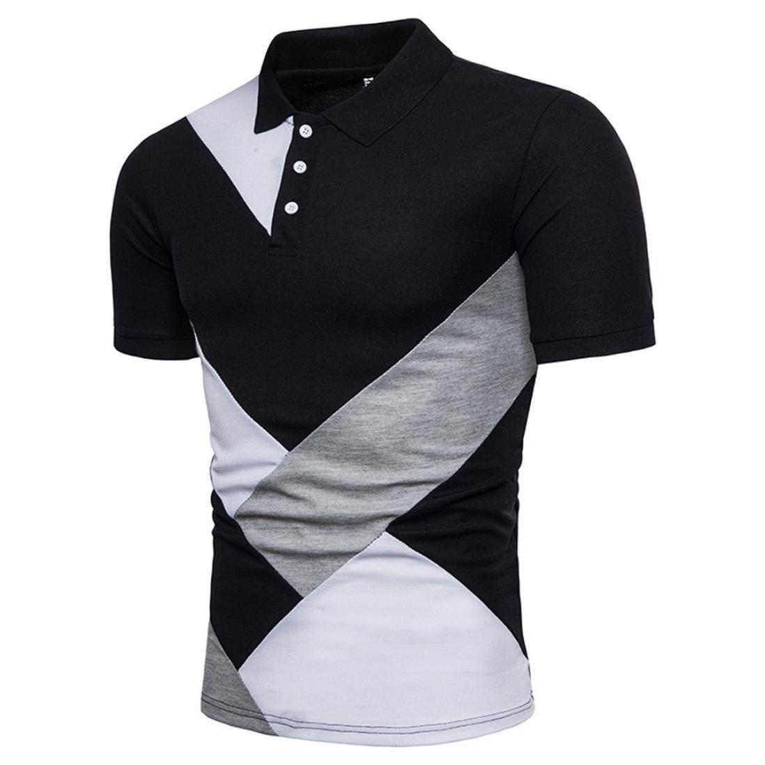 NEEKEY Mens T Shirts Men Printing Tees Shirt Short Sleeve T Shirt Blouse Tops
